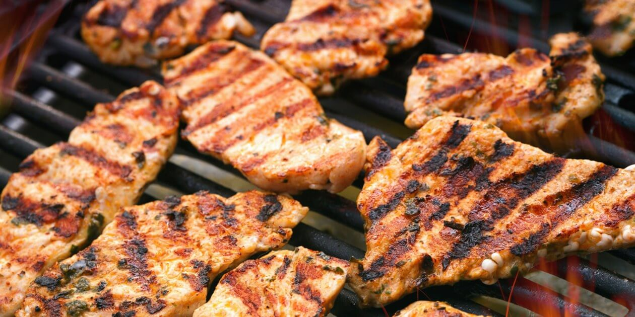 Grilling outdoors will save you from the heat