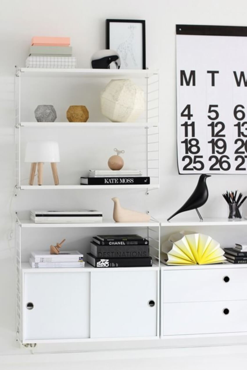 This oversized calendar is great to keep track of your days.