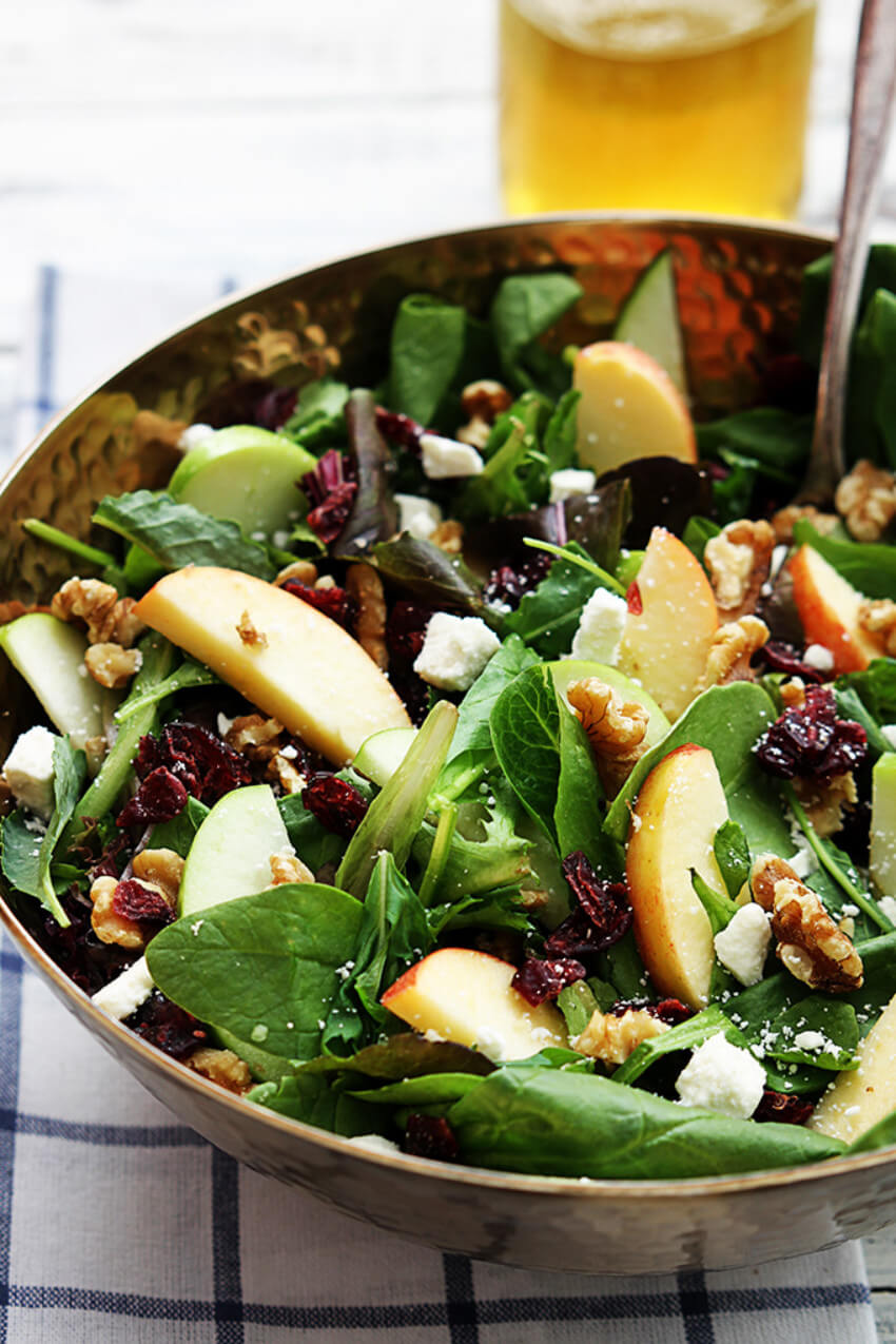Add some fall flavors to your salad too!