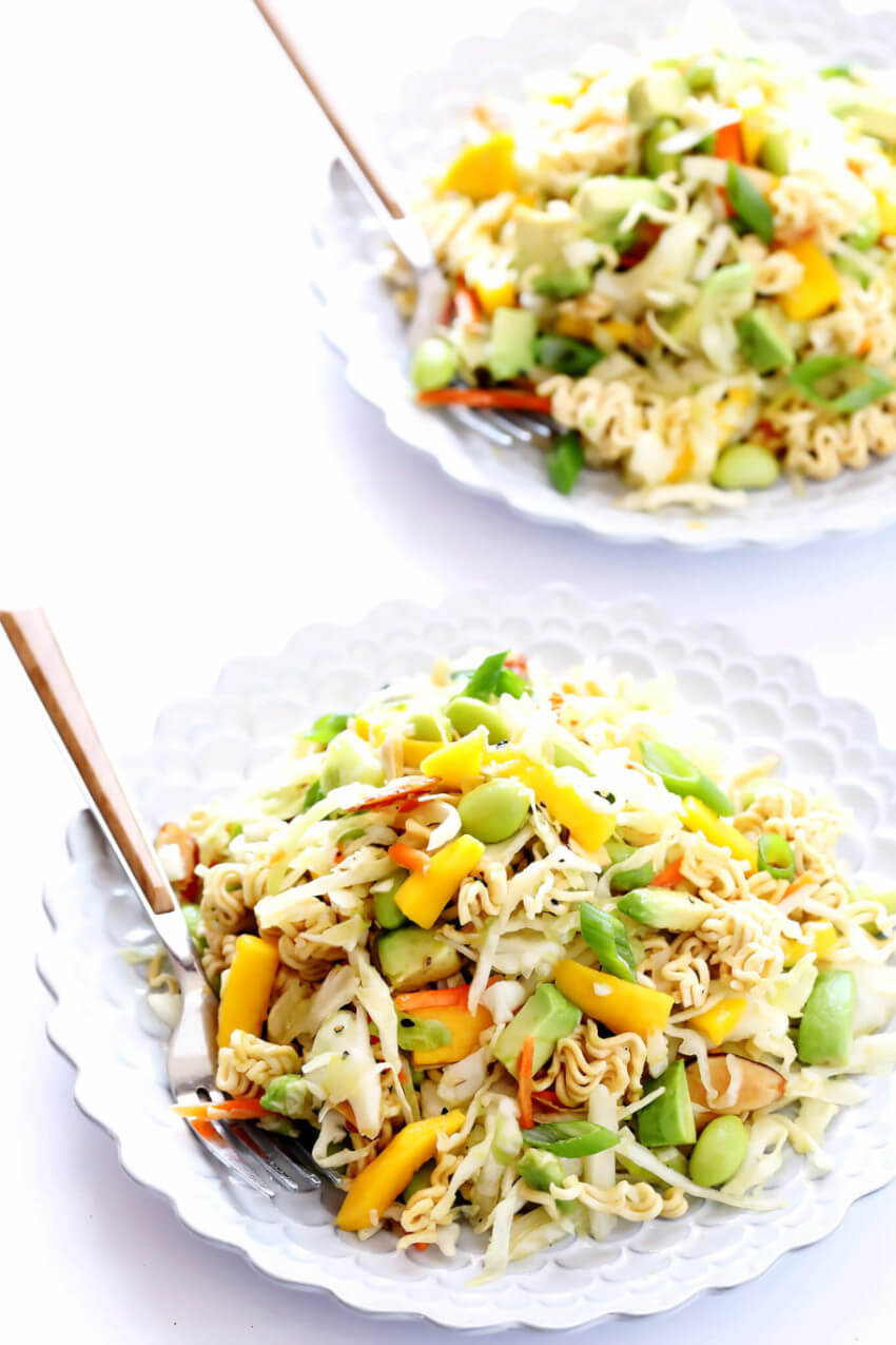 This asian salad is perfect side dish to your weekend lunch!