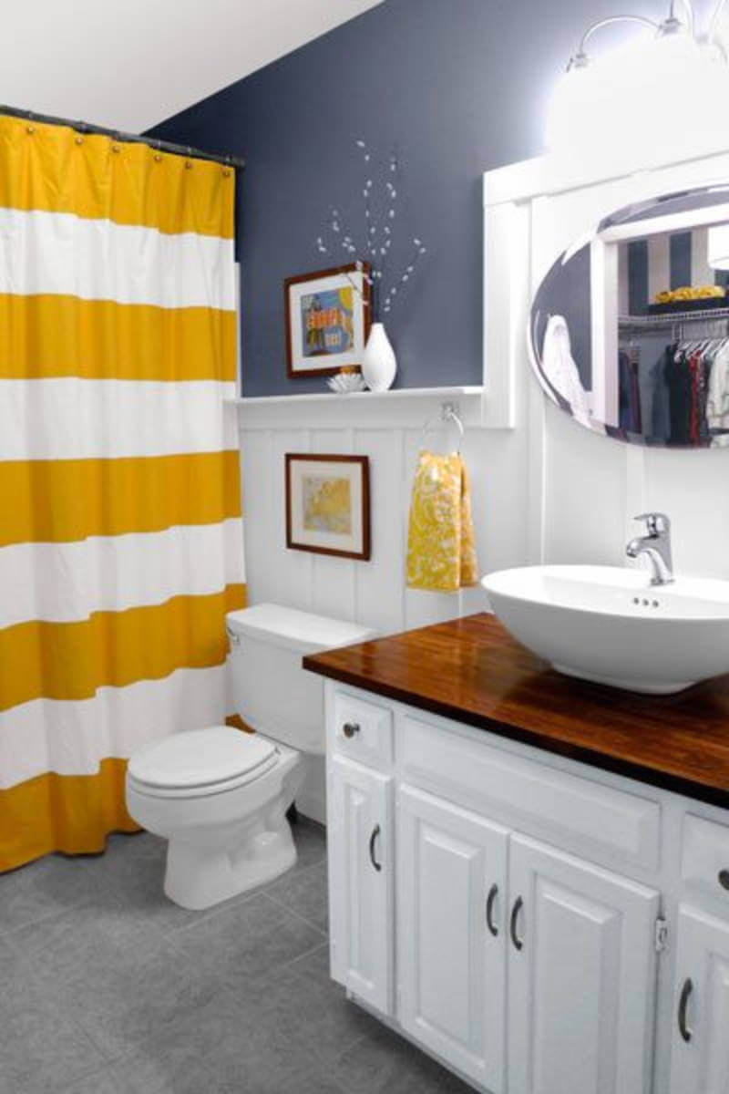Yellow is a color that brightens any room.