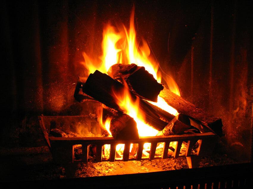 Burn orange peels for a nice-smelling home.