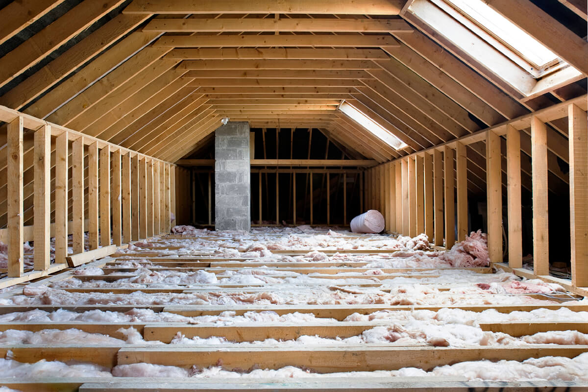 Be sure to have your entire home insulated correctly