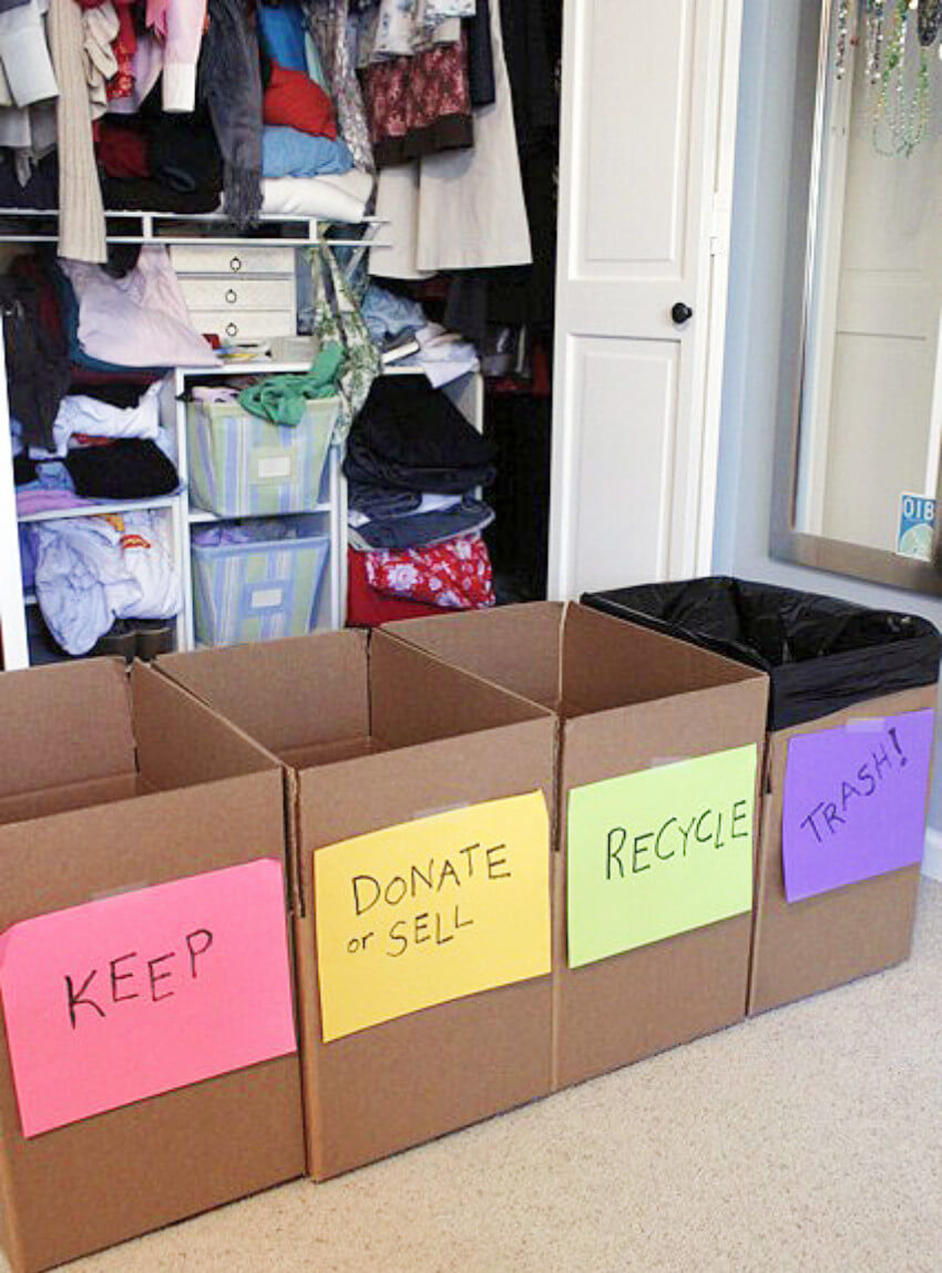 These boxes make your life a lot easier when spring cleaning!