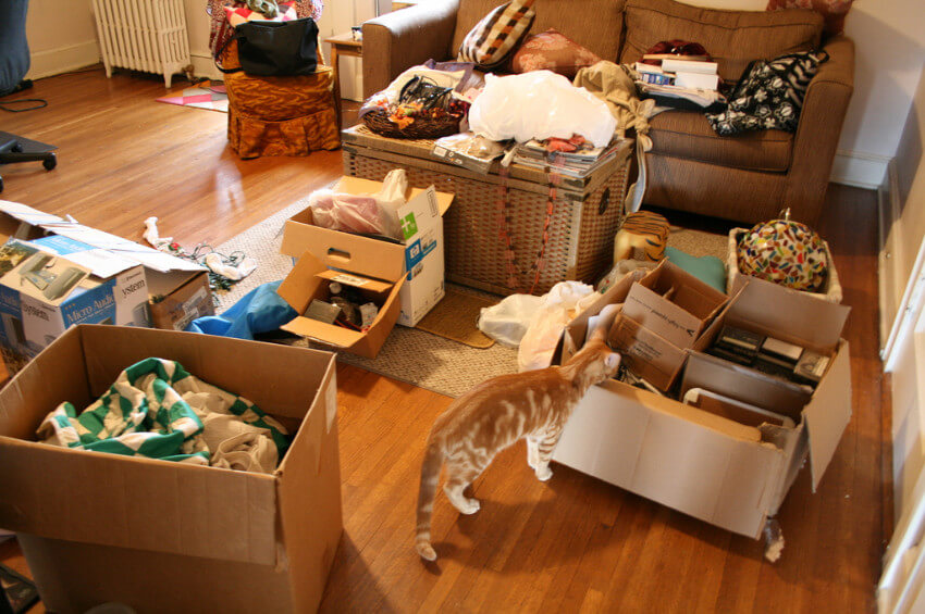 Decluttering is the first step to spring cleaning!