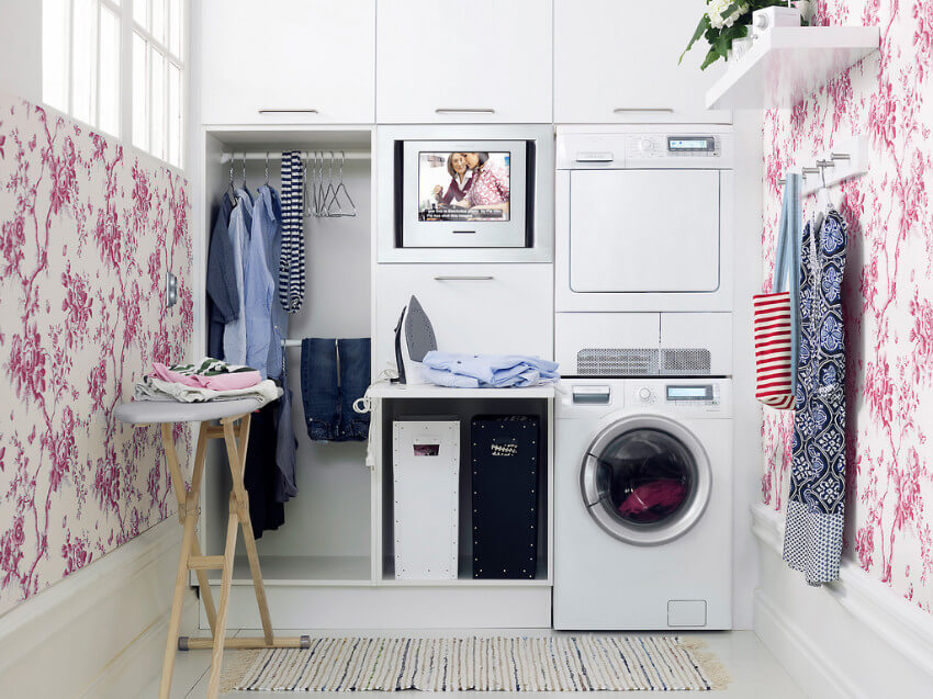Do your laundry in the morning to let it dry in the sun!