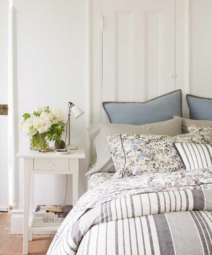 Bedding should be changed every other week, aside from the changes of spring cleaning!