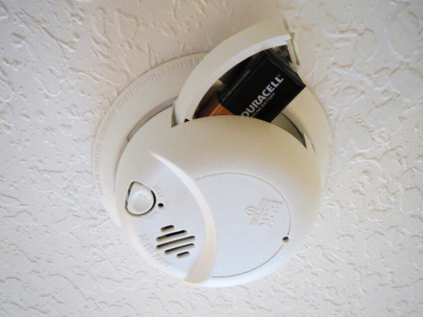 Change the batteries of your smoke detectors because it's always better to be safe than sorry!
