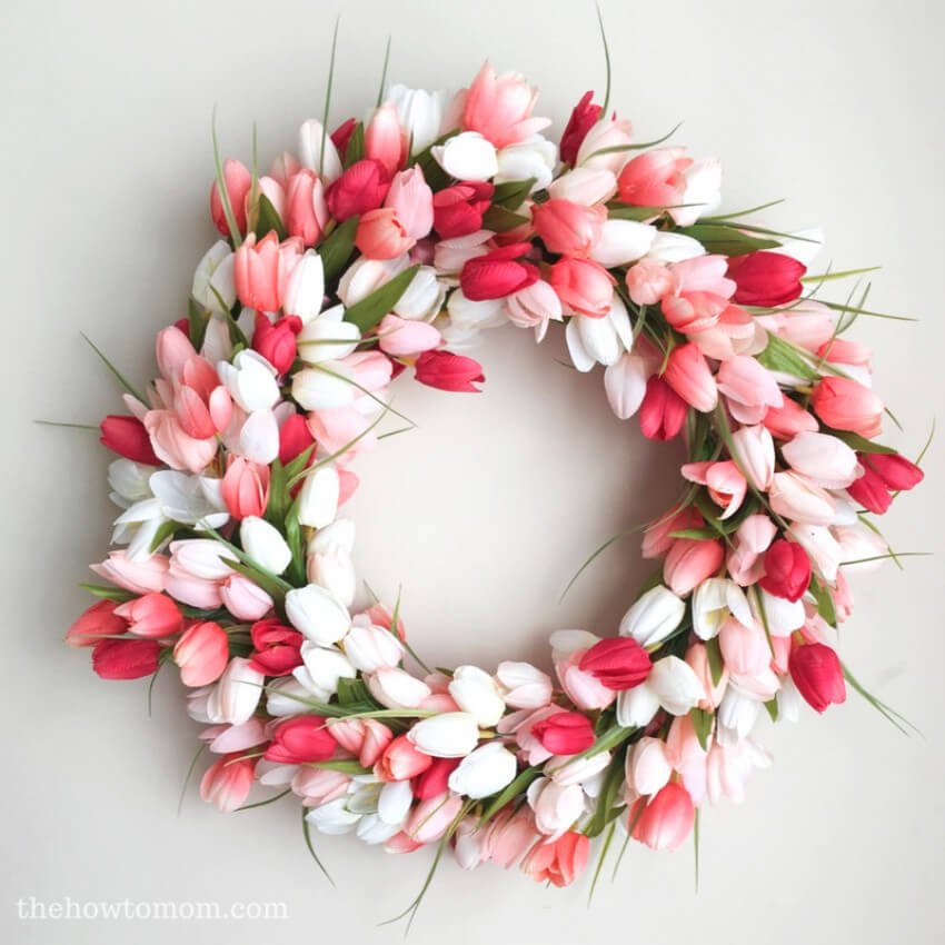 Bring in the romance with this lovely wreath!