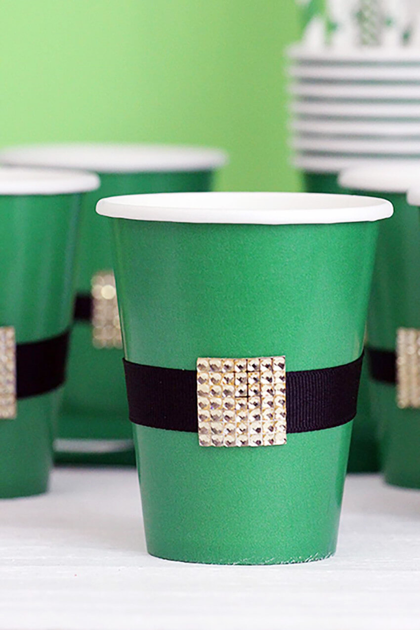 Cups are simple to DIY and can also be recycled later.