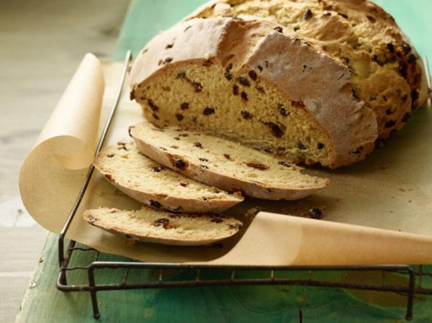 Soda bread is a traditional Irish food!