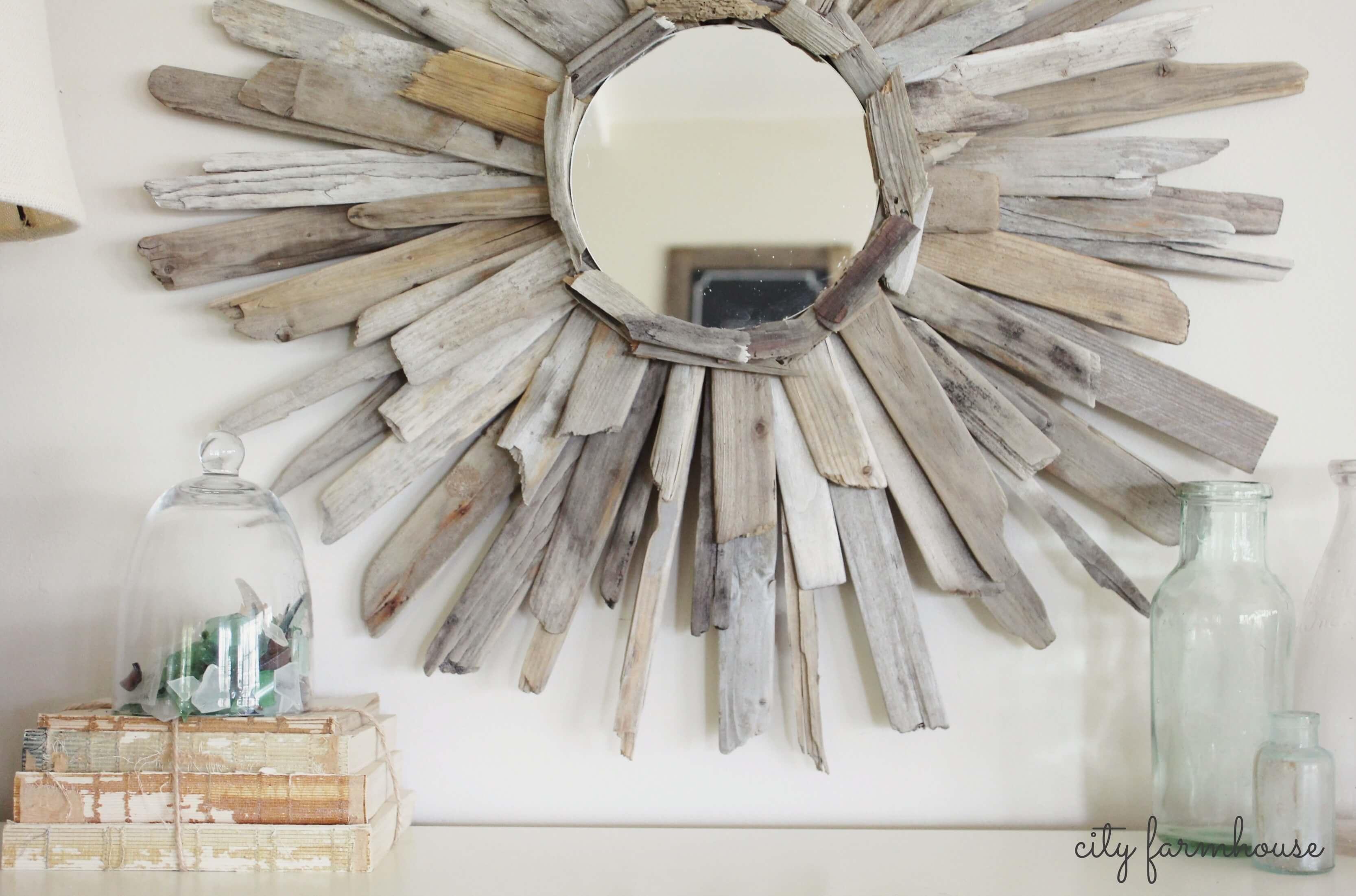 The much beloved driftwood mirror