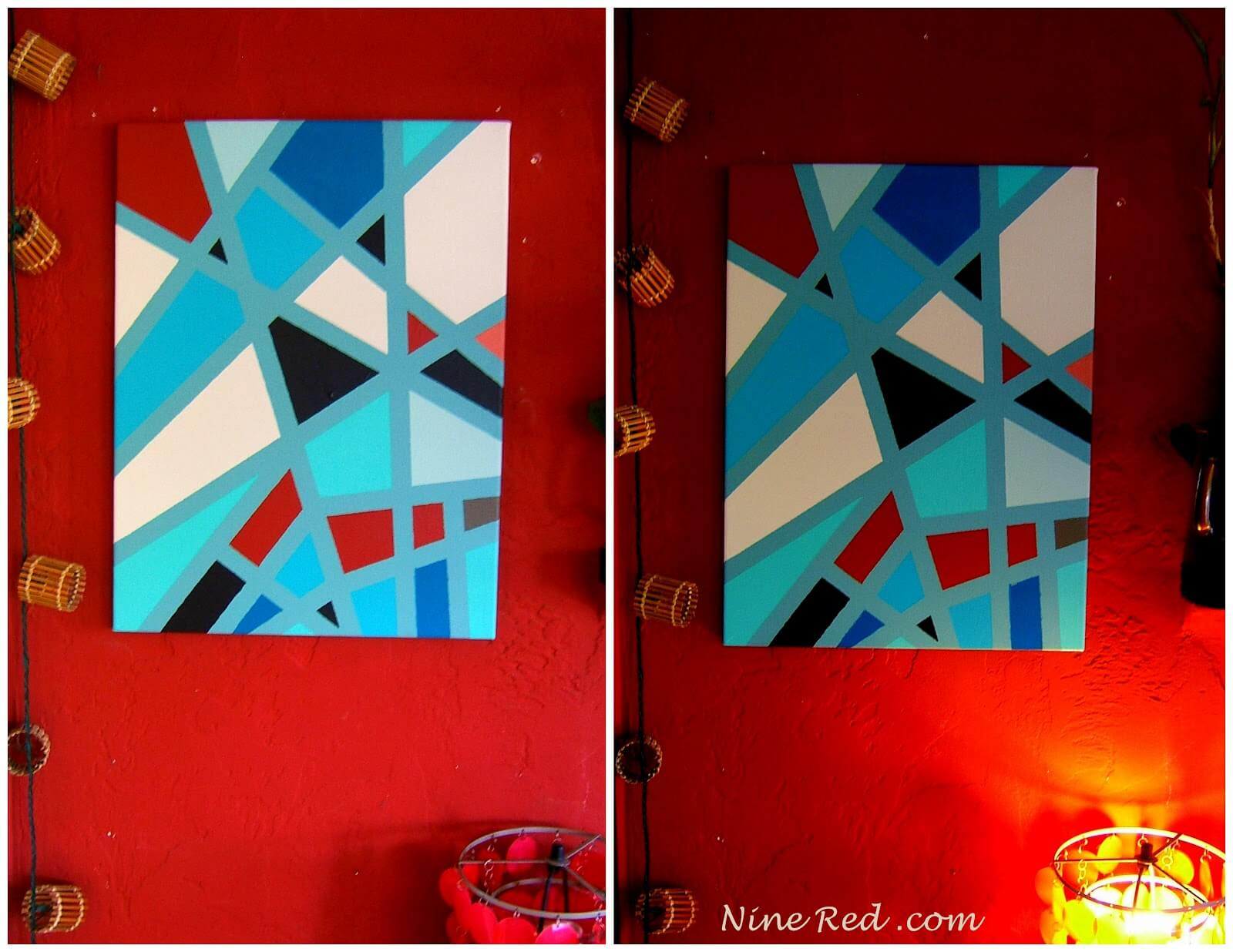 Easy art that hangs well anywhere in the house