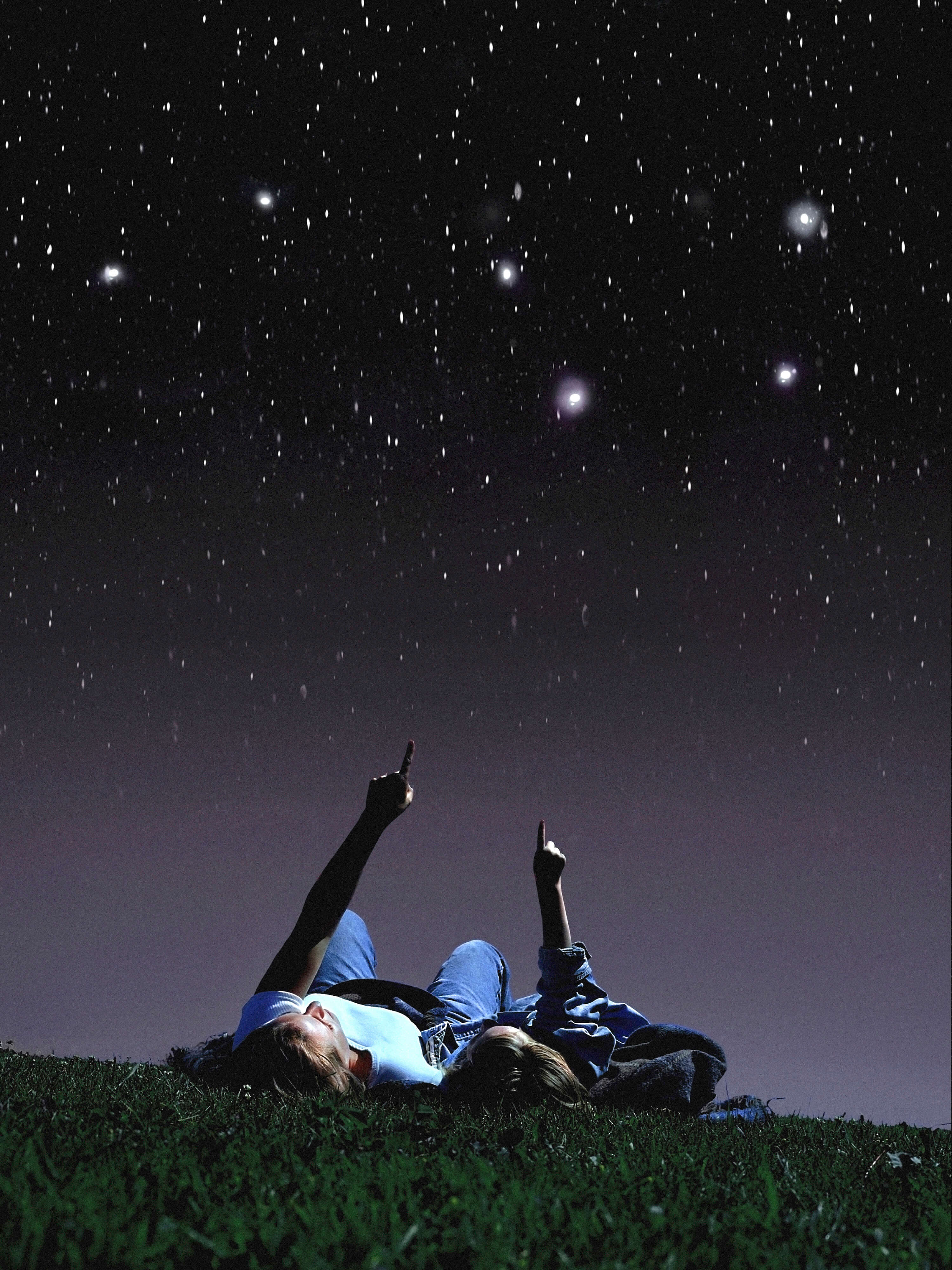 Stargazing is fun and educational for children