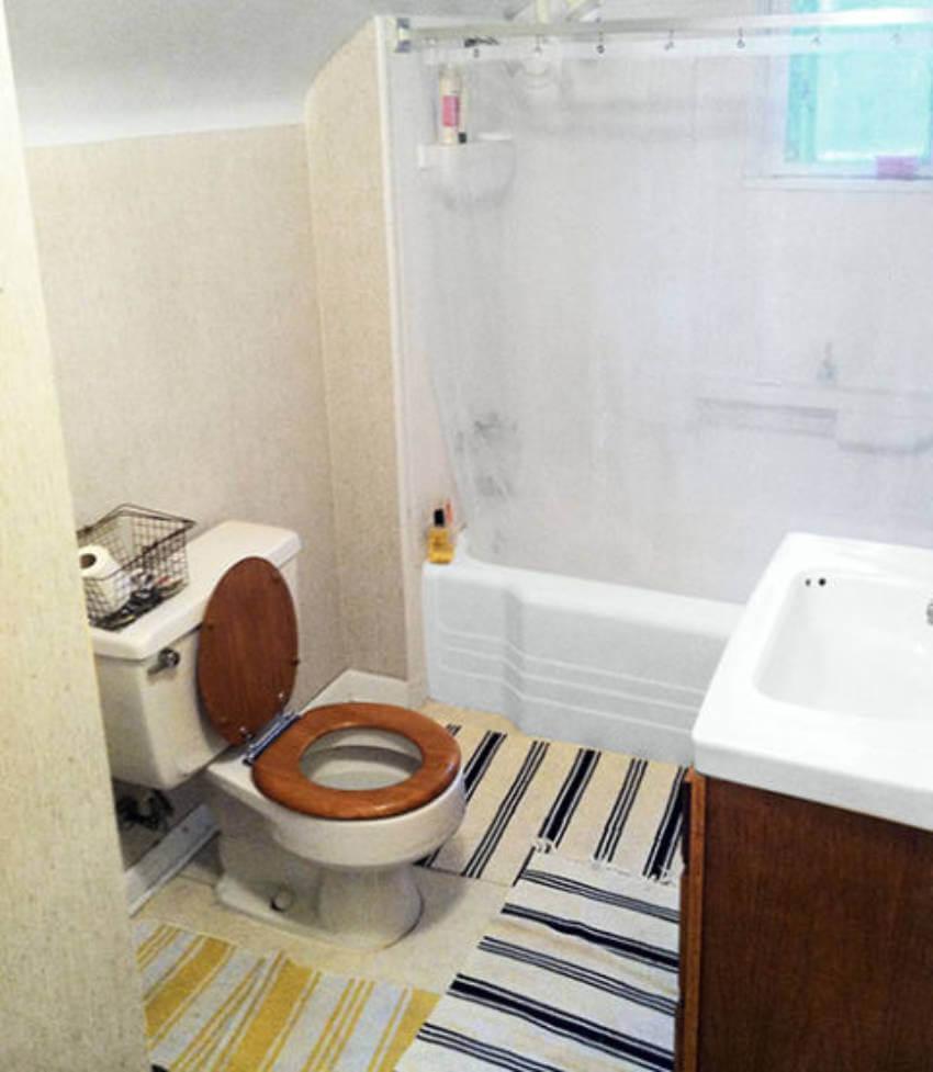 Bathroom before.