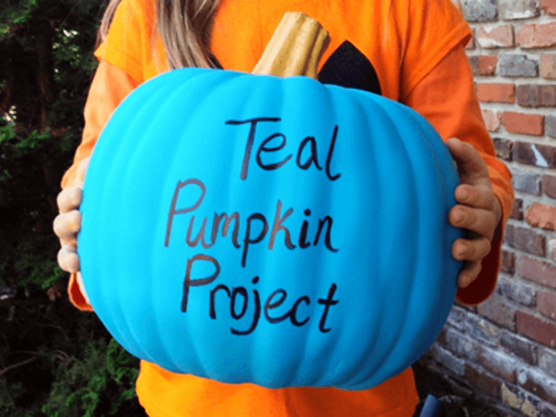 What is the Teal Pumpkin Project and How it Can Save Lives