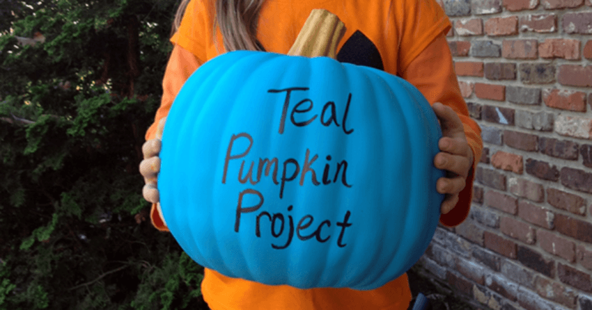 The Teal Pumpkin Project is meant to include all kids during trick-or-treating!