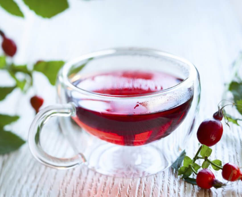 Rosehip and hibiscus make a wonderful flavor combo plus they can improve your health!
