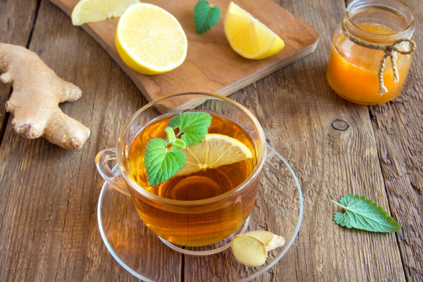 Lemon tea has the citric acid that can make you feel better from a sore throat!