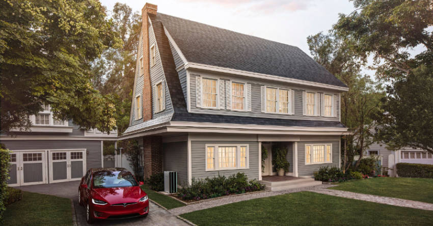 Tesla's Solar roof is surprisingly affordable.