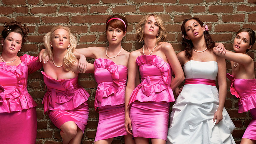 Bridesmaids was a huge box-office hit.