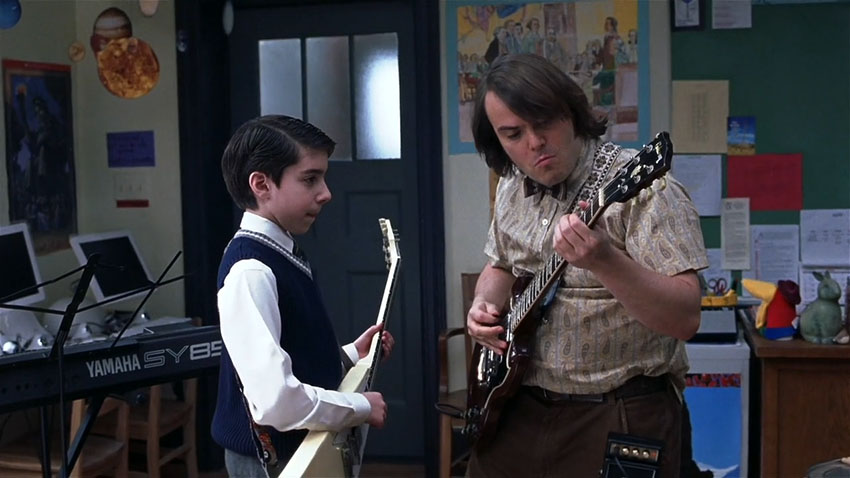 School of Rock is as contagious as it's soundtrack.