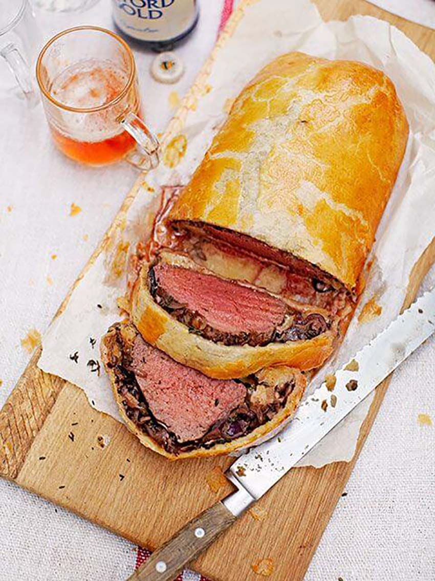 Beef Wellington - Full Menu Guide for Christmas Eve Dinner