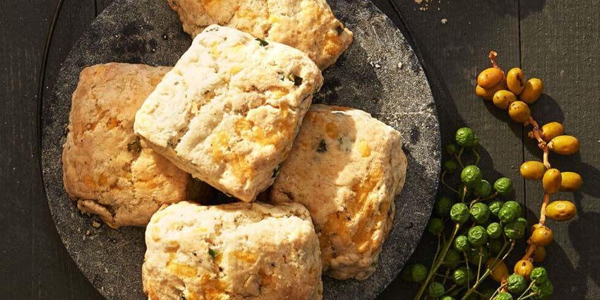 Fluffy Apple-Cheddar Biscuits - Full Menu Guide for Christmas Eve Dinner