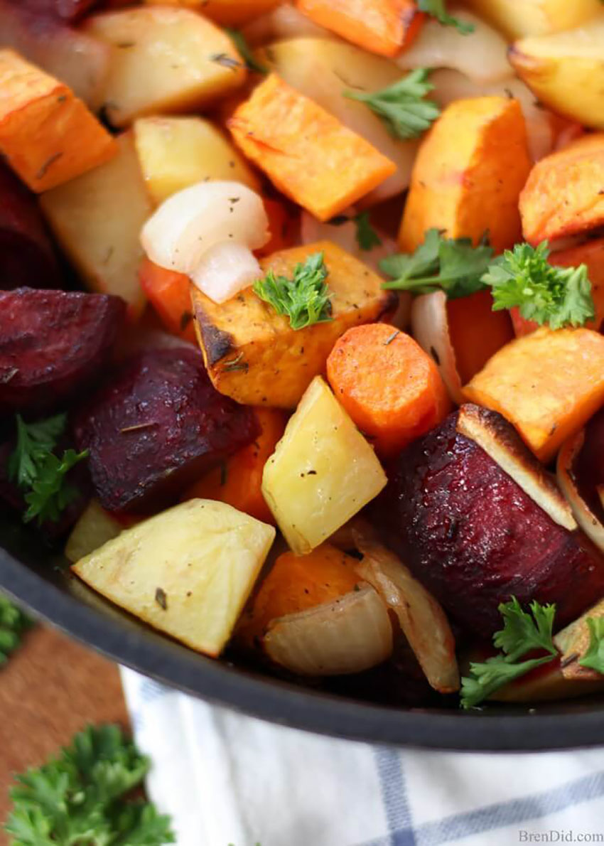 Over Roasted Root Vegetables