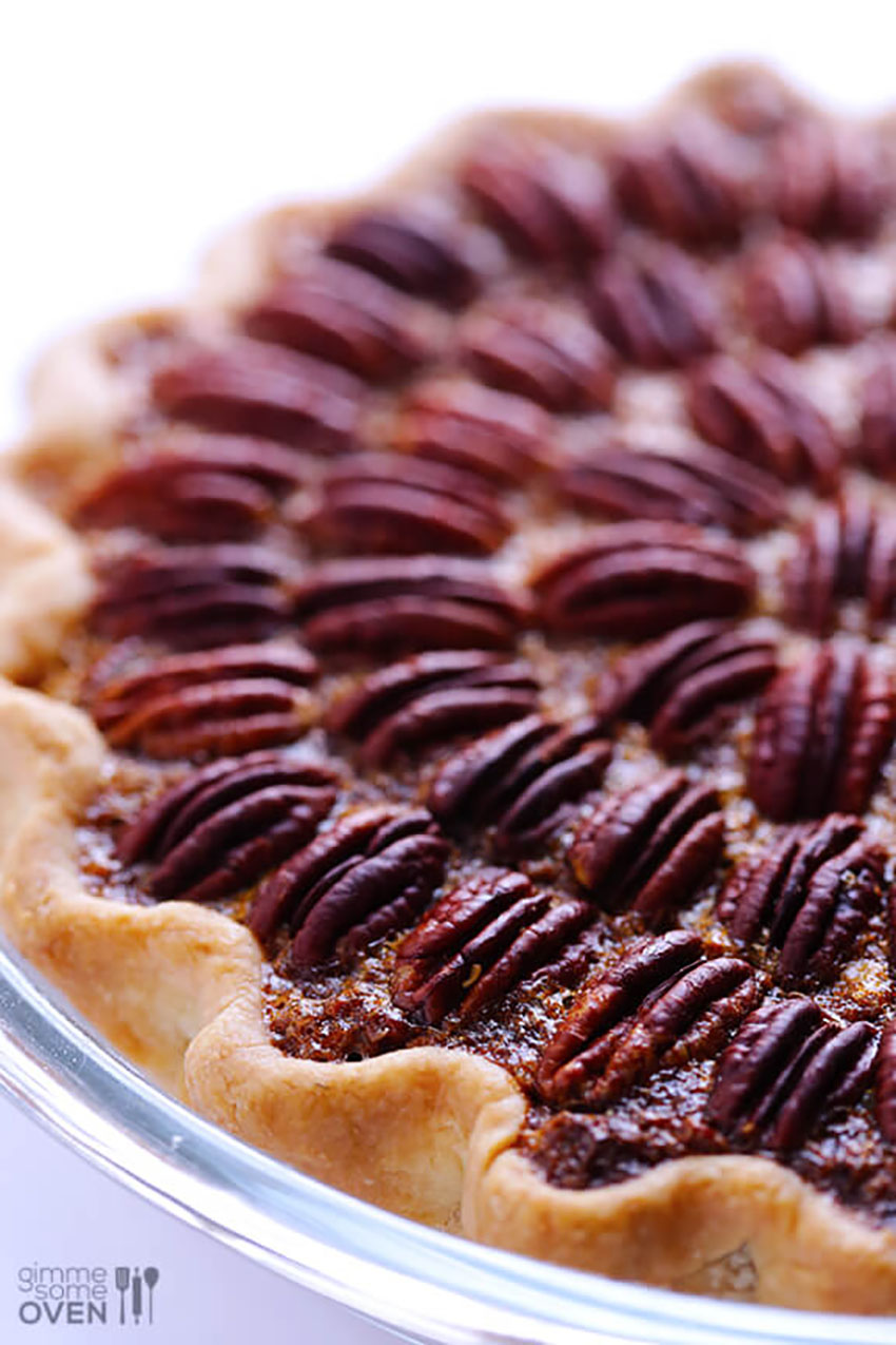 Homemade Pecan Pie Thanksgiving
