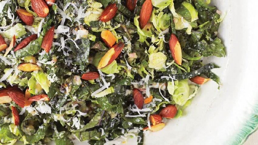 Kale and Brussels Sprout Thanksgiving