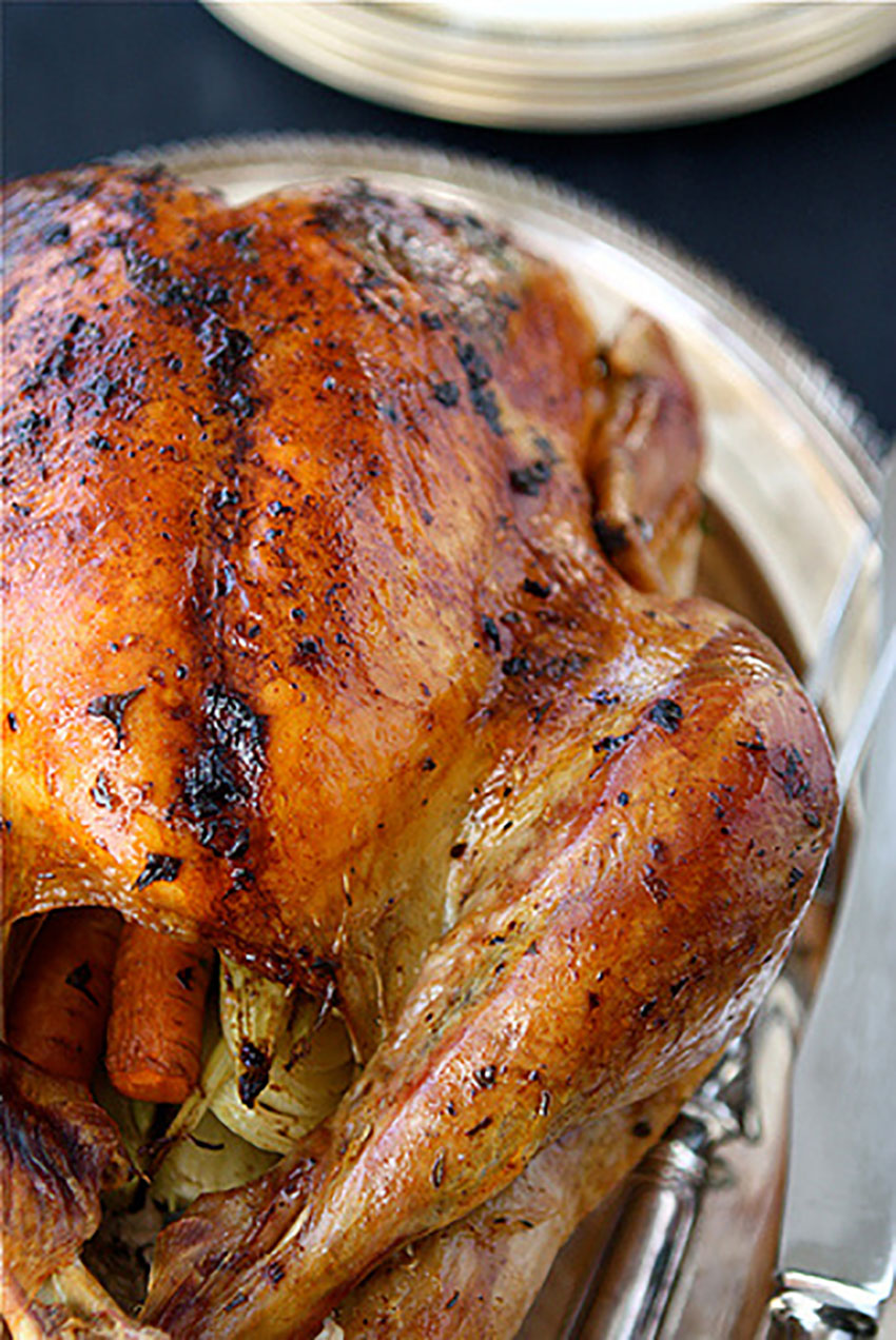 Roasted Turkey with Herb Butter