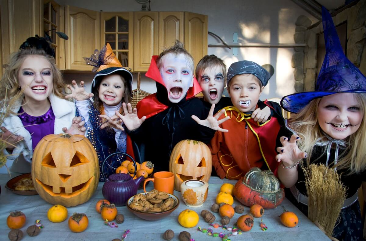 Kids of all ages love trick or treating and candy!