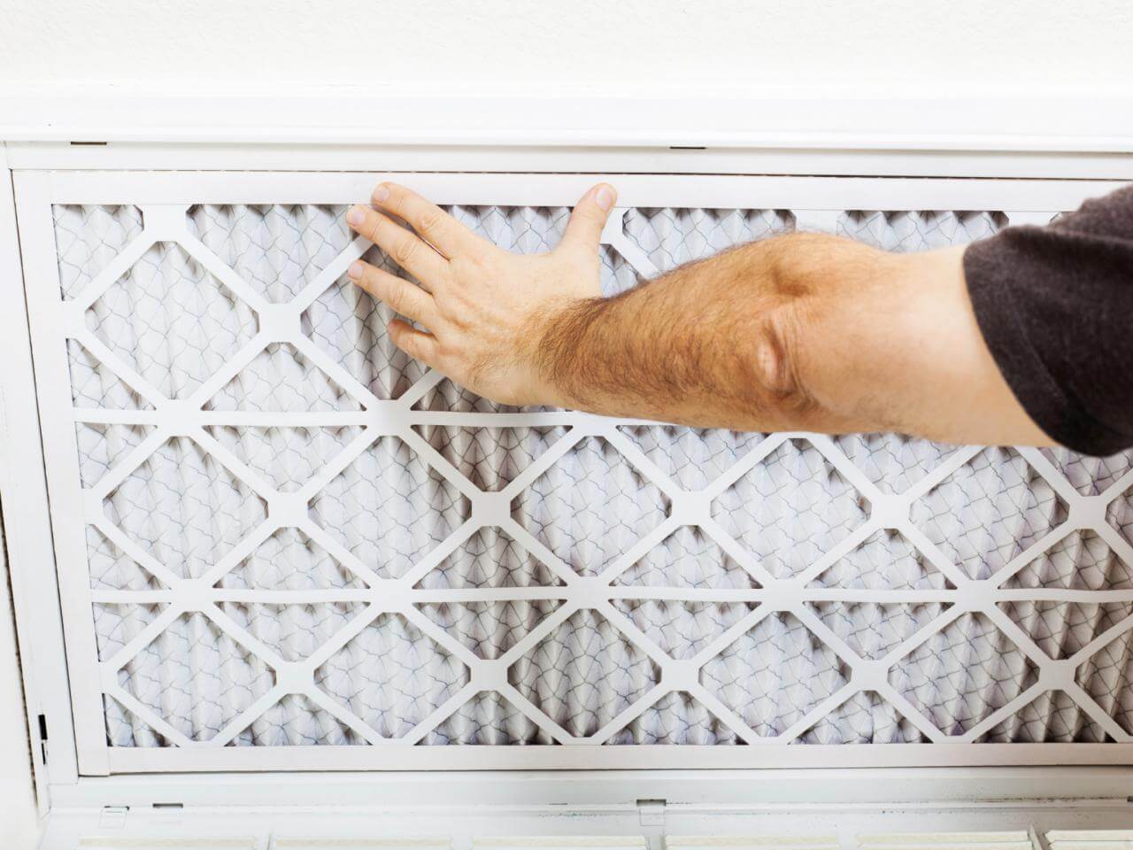 HVAC filters can be replaced monthly for maximum efficiency.