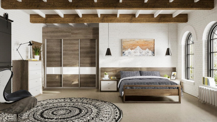 Such a peaceful image of a clean bedroom!