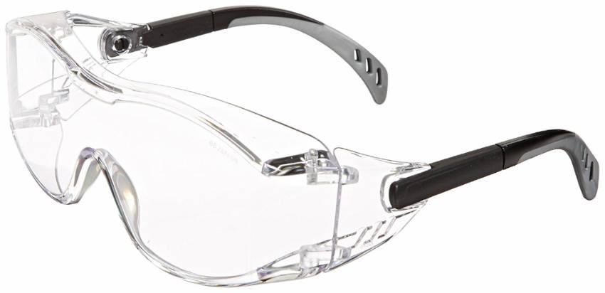 Safety glasses are often forgotten.