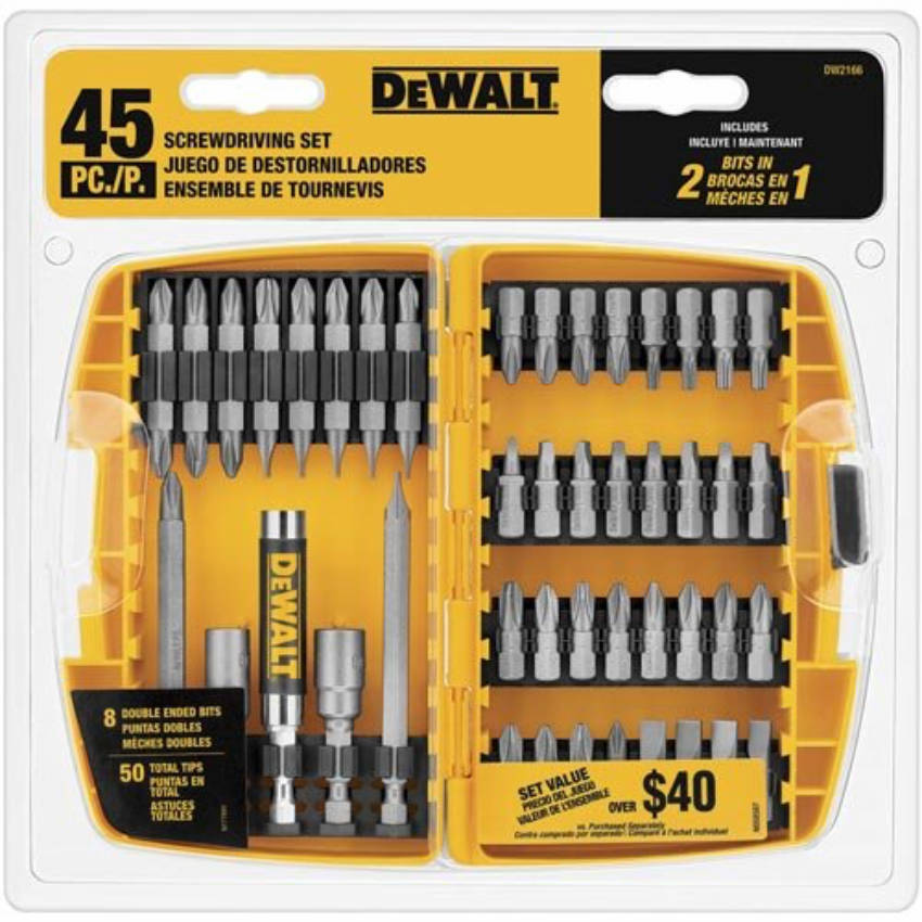 Have a reliable set of screwdrivers