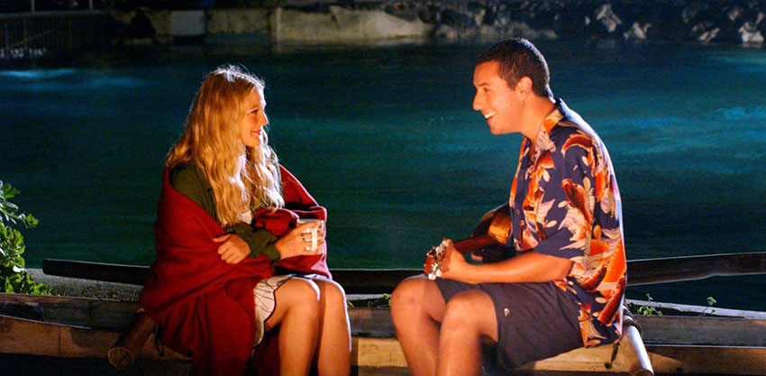 50 First Dates is among Adam Sandler's best efforts, despite the occasional immature humor.