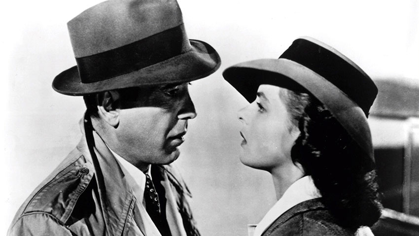 Casablanca is one of Cinema's most classic love stories.