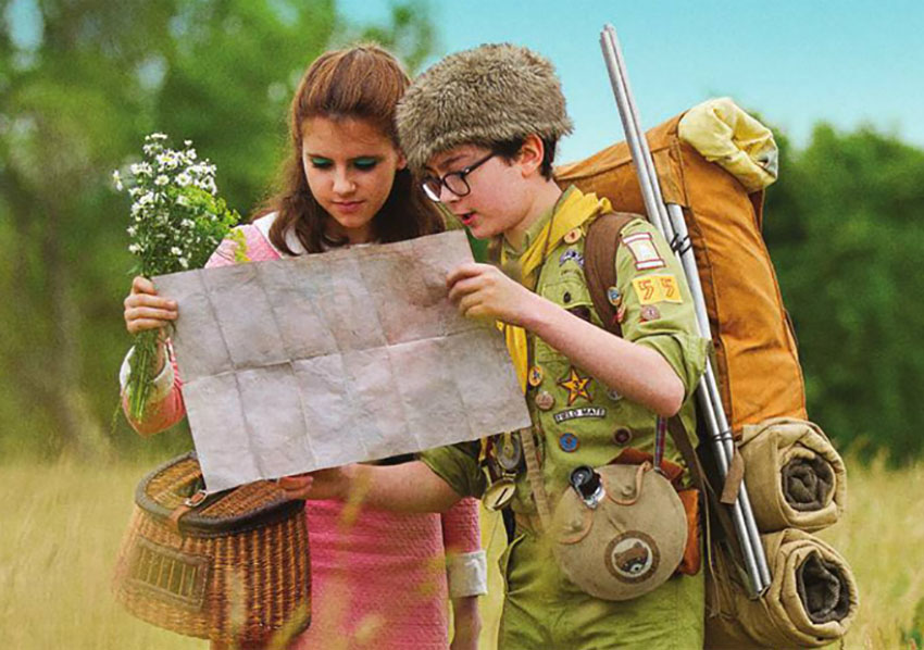 Moonrise Kingdom is adorable in every sense of the word.