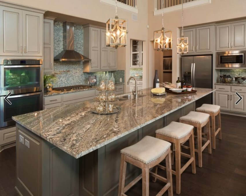 Granite is all about luxury in your kitchen