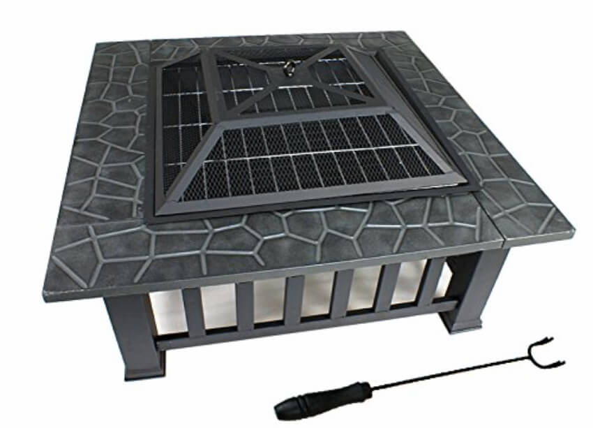 Get this fire pit at Amazon