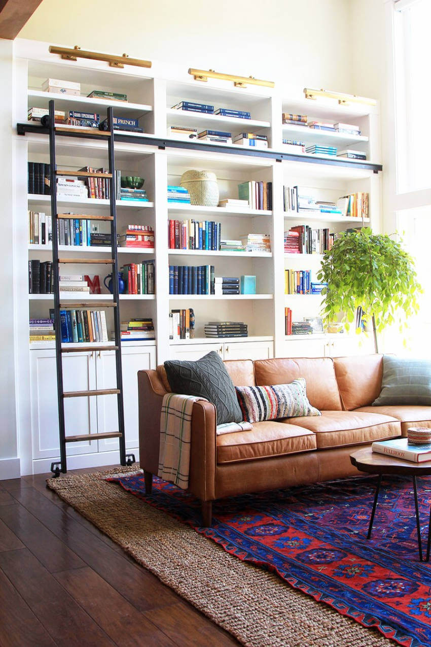 Working with layers can give style and add dimension to a room.