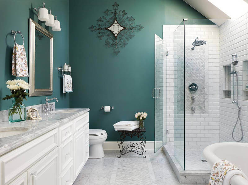 The 5 Best Bathroom Colors For 2019