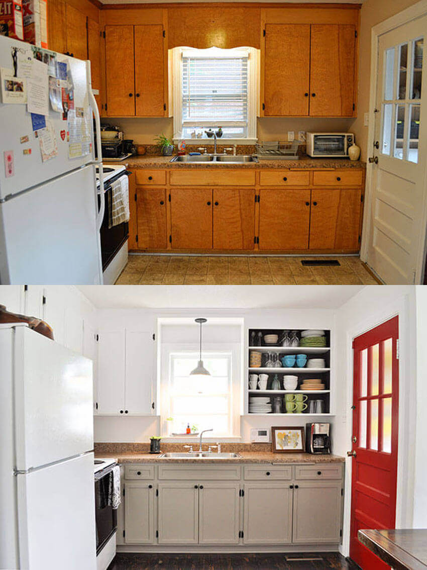 It's amazing what creativity can do to a room.