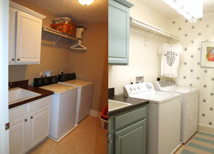 Who says the laundry room has to be boring?