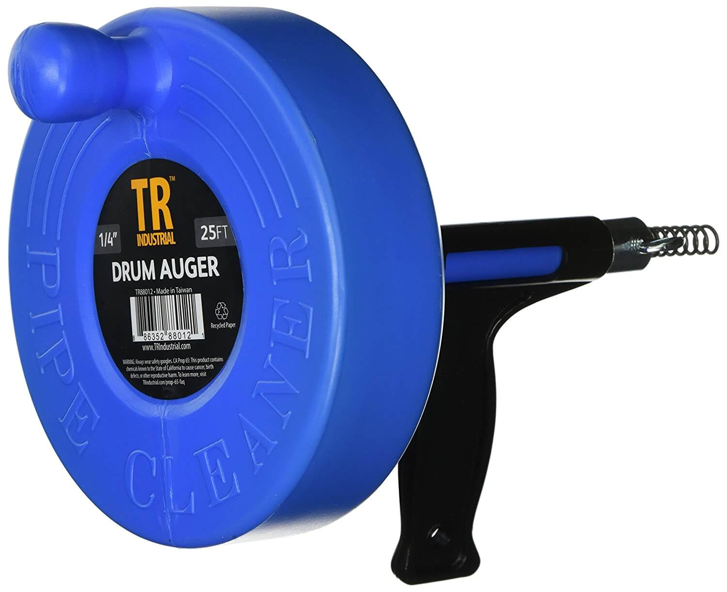 A cable auger can fix your troubles