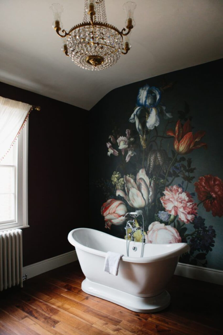 Doesn't this bathroom look incredible?!