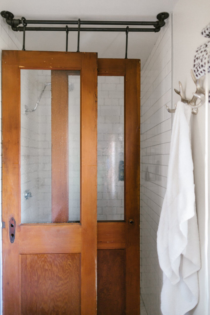 7 Unexpected Shower Doors To Transform Your Bathroom Homeyou