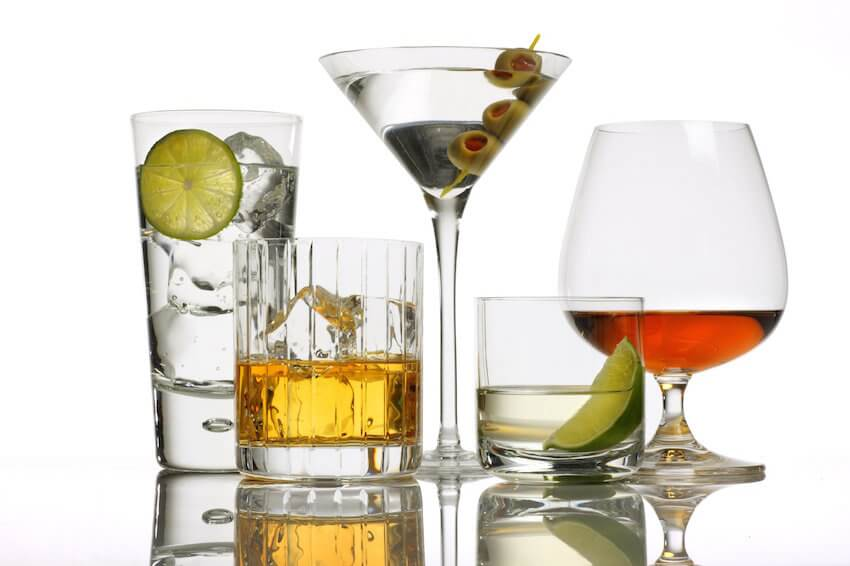 Kitchen bar tip: Moderation in things like alcohol is healthier for your body.